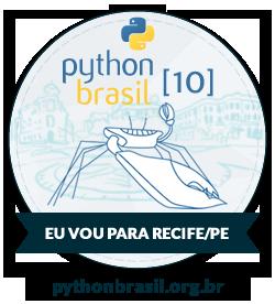 Eu vou na PythonBrasil[10]